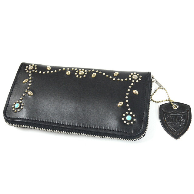 TYPE1 ZIPPER WALLET #SN33 TQ BLACK