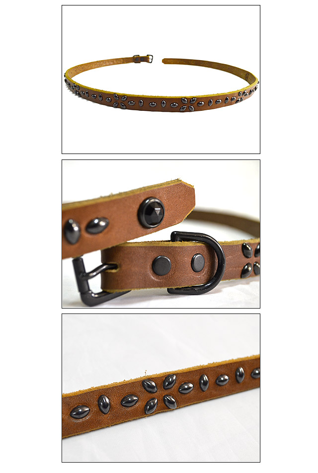 #BT0024 0.75inch BELT L.BROWN