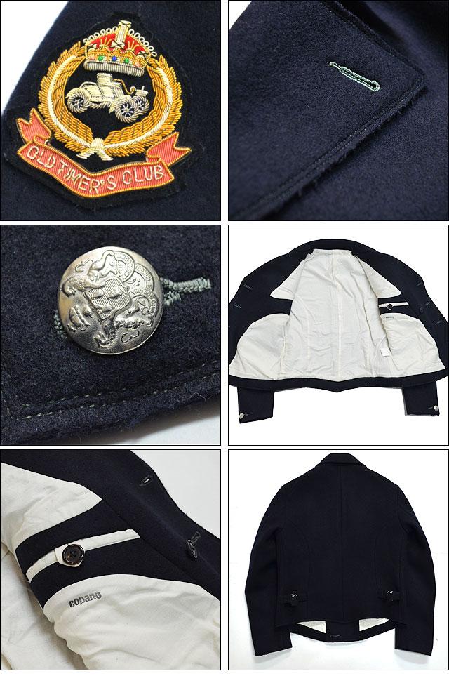 タスマニアウール ジャーマンアーミージャケット BLACK