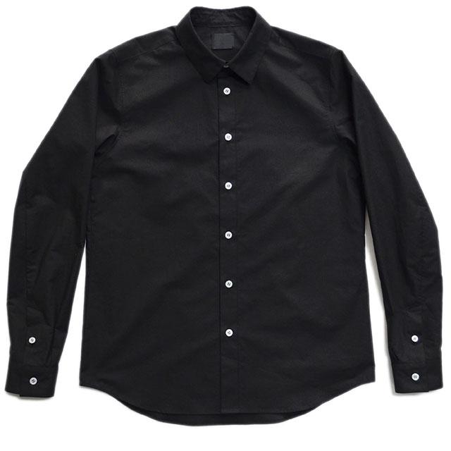 スーピマコットンシャツ Black