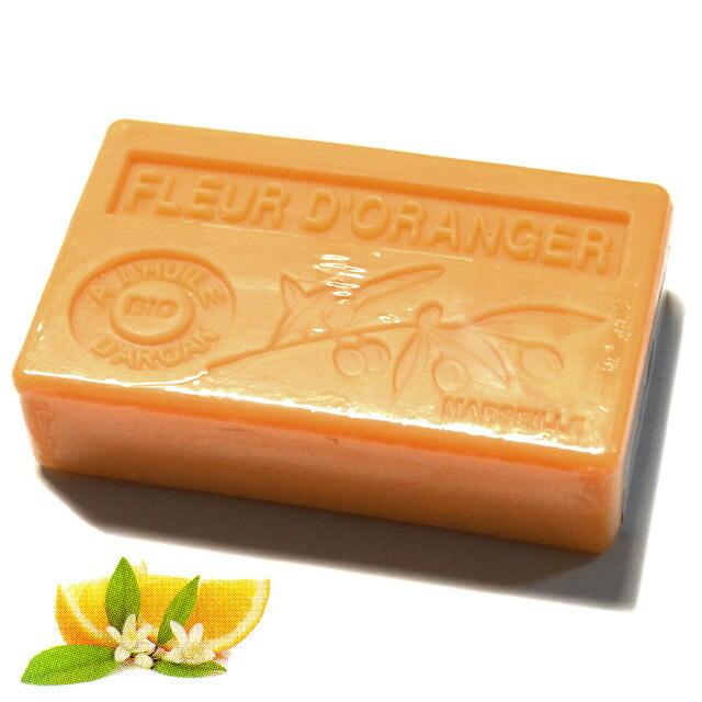 プロヴァンス アルガン石鹸 オレンジの花