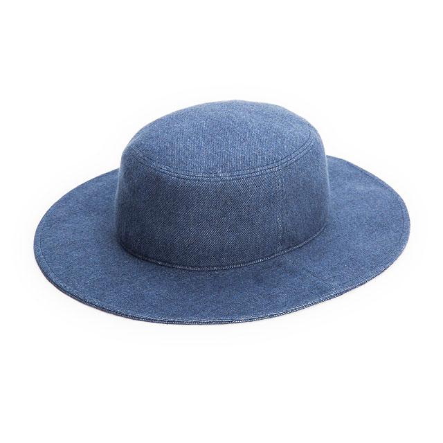 ロングブリムバケットハット【RL-15-786】 BLUE
