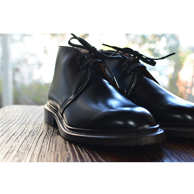 【9096】CAVERLY CHUKKA BLACK ESQUIRE Black