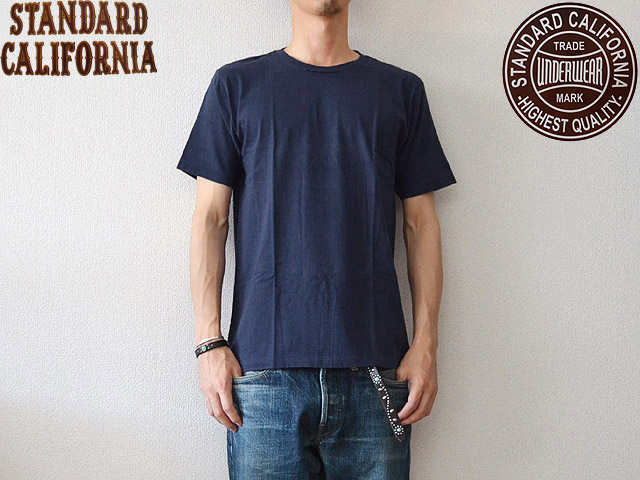 SD UNDERWEAR CREW NECK T NAVY