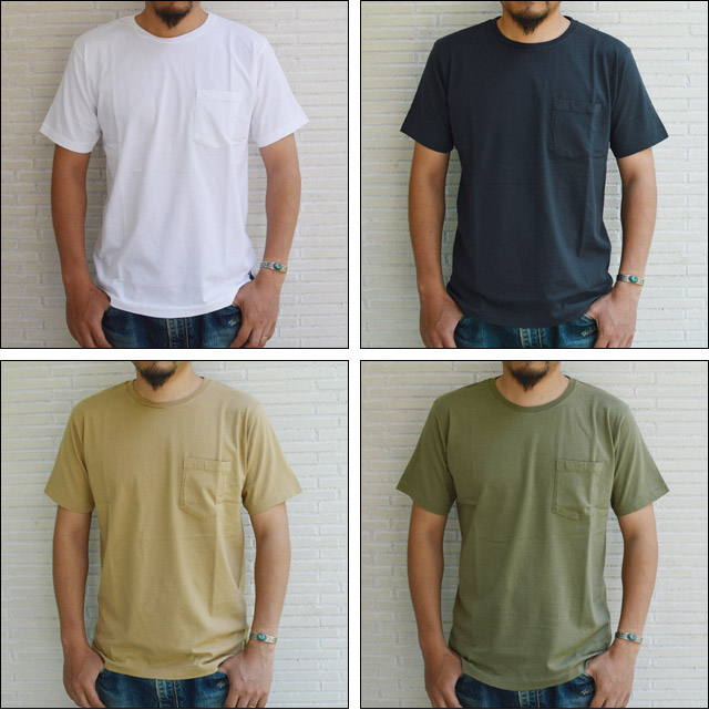 SD Peace Sign Pocket T Crew-Neck 16SS
