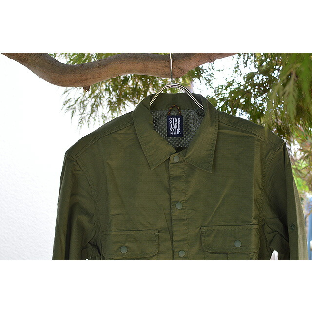 SD Coolmax Fabric Outdoor Field Shirt OLIVE SHOLA1501