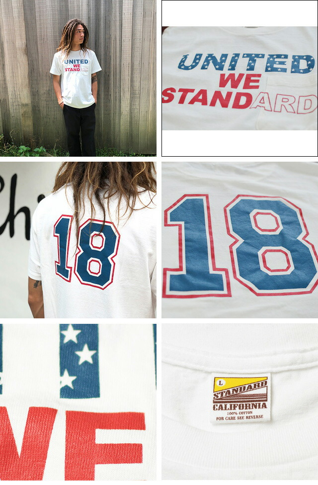 UNITED WE STANDARD T-SHIRT WHITE 18SU