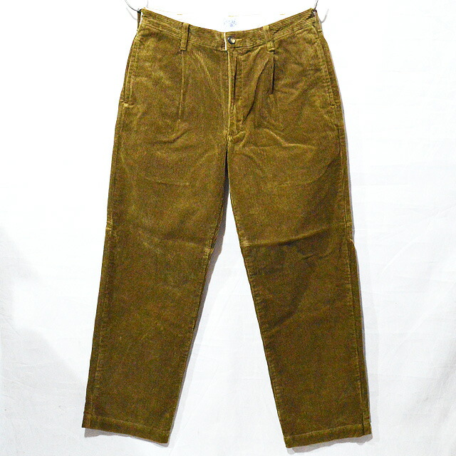 SD Pleated Corduroy Pants 18AW BTKPA188