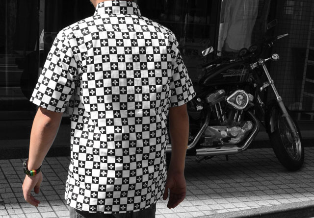 CHECKER FLAG SHIRT S/S