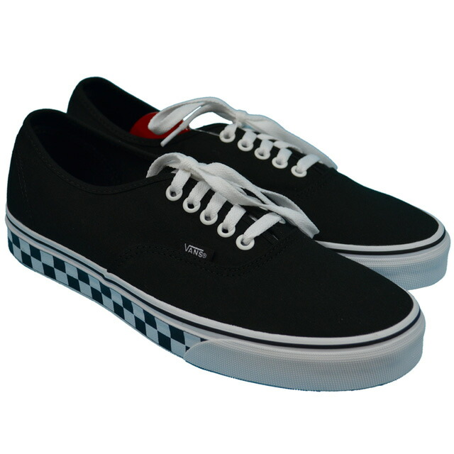 VANS AUTHENTIC(CHECKER TAPE) Lifestyle Black/White VN0A38EMMOR