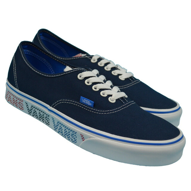 VANS AUTHENTIC(VANS CHECKER TAPE) Lifestyle Dress Blues/Blue VN0A38EMMQO