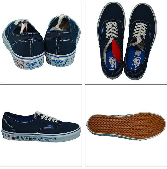 VANS AUTHENTIC(VANS CHECKER TAPE) Lifestyle Dress Blues/Blue VN0A38EMMQO