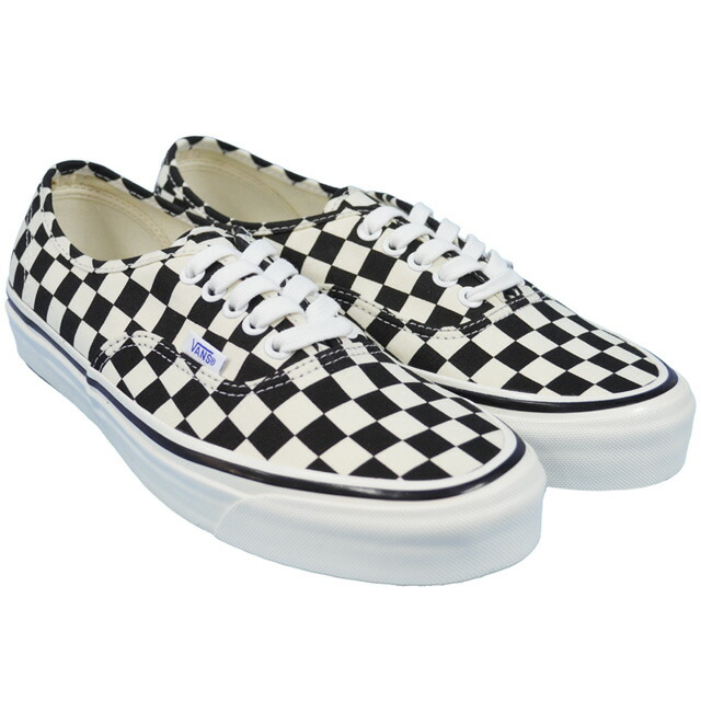 AUTHENTIC 44DX(ANAHEIM FACTORY PACK) BLACK/CHECK VN0A38ENOAK