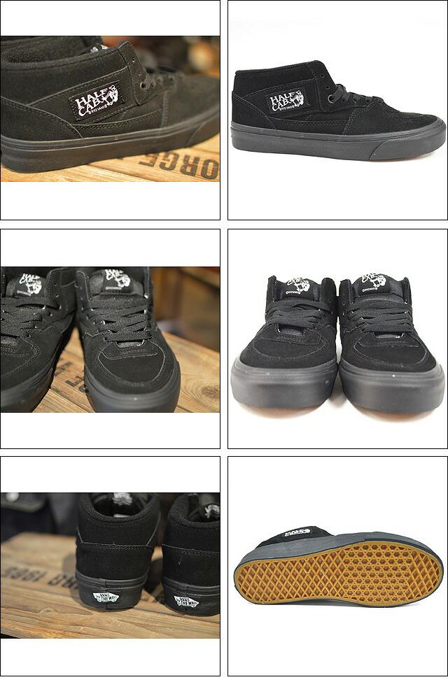 HALF CAB Black/Black Lifestyle VN000DZ3BKA