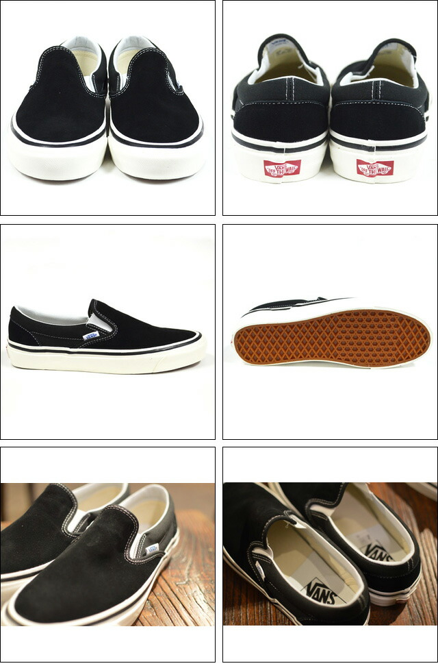 CLASSIC SLIP-ON 98DX(ANAHEIM FACTORY)  SD/OG BLACK VN0A3JEXQU1