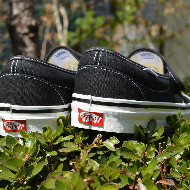 Slip-On 47V DX(ANAHEIM FACTORY) BLACK VN0A3MVAMR2