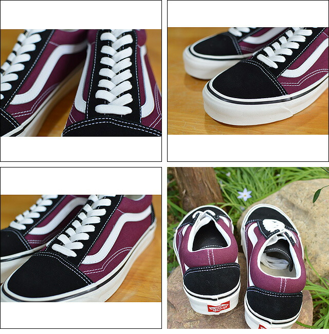 Old Skool 36DX(ANAHEIM FACTORY) BLACK/BURGUNDY VN0A38G2R1U