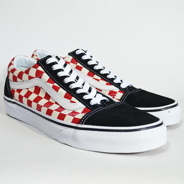 OLD SKOOL Lifestyle (Checkerboard)black/red VN0A38G135U