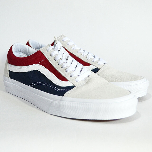 OLD SKOOL Lifestyle (Retro Block) white/red/dress blues VN0A38G1QKN