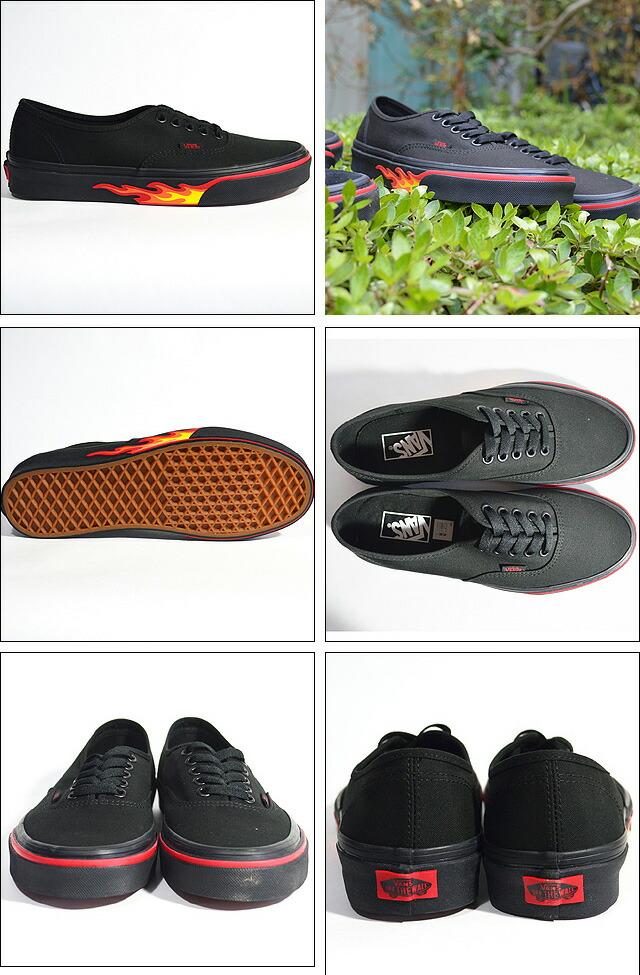AUTHENTIC Lifestyle (Flame Wall) black/black black/black