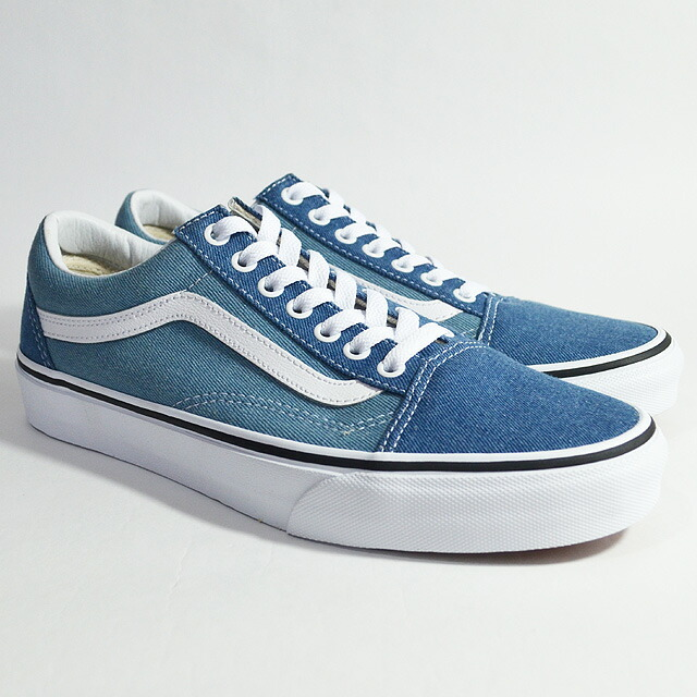 OLD SKOOL Lifestyle (Denim 2-Tone) blue/true white VN0A38G1Q69