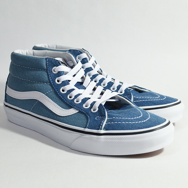 SK8-MID REISSUE Lifestyle (Denim 2-Tone) blue/true white VN0A3MV8Q69