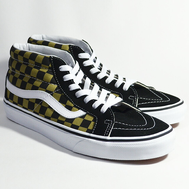 SK8-MID REISSUE Lifestyle (2-Tone Checker) boa/black VN0A3MV8QJY