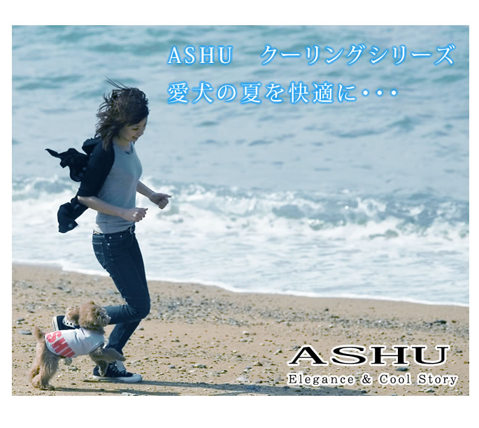 In the cooling series of ASHU the summer of the pet dog comfortably