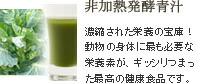 非加熱発酵青汁