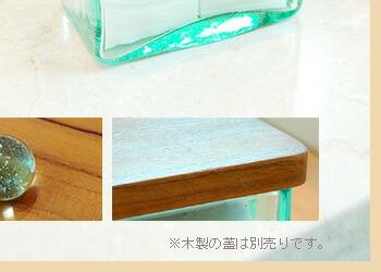 由手工制作的玻璃棉花案件 [12 × 8 厘米低类型] [10008]