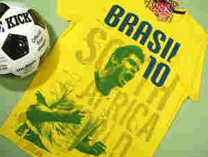 サッカーTシャツ、ブラジル、アルゼンチン、メキシコ、マラドーナ、カカ、ペレ、フェルナンドトーレス、デルピエロ、Cロナウド、メッシ、テベス、ドログバetc