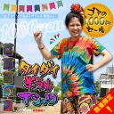 1,000 yen sale ★ tie-dyeing short sleeves T-shirt of Gore