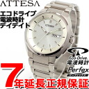 Citizen atessa CITIZEN ATTESA eco-drive solar radio watch mens watch day & date AT6010-59P