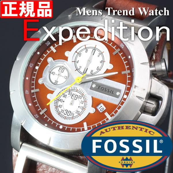 フォッシル FOSSIL メンズ腕時計 Expedtion クロノグラフ JR1157