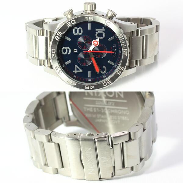 NIXON ニクソン 腕時計 THE 51-30 NA083307-00 ネイビー NAVY