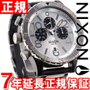 48-20 48-20 Nixon NIXON Kurono CHRONO watch men chronograph black / silver NA486180-00