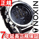 Nixon NIXON 48-20 leather】all 48-20 CHRONO LEATHER watch men's chronograph Brown Gator NA3631887-00