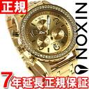 Nixon NIXON 38-20 Chrono 38-20 CHRONO watch ladies chronograph gold Crystal NA4041520-00