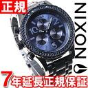 38-20 38-20 Nixon NIXON Kurono CHRONO watch Lady's chronograph oar Deep Blue crystal NA4041880-00