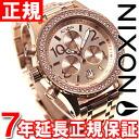 38-20 38-20 Nixon NIXON Kurono CHRONO watch Lady's chronograph oar Rose gold NA404897-00