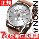 Nixon NIXON sentry Chrono leather SENTRY CHRONO LEATHER watch men's chronograph saddlegator NA4051888-00