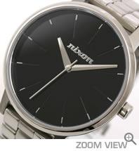 ニクソン NIXON 腕時計 KENSINGTON NA099000-00 ブラック 文字盤