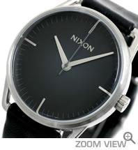 NIXON 腕時計 MELLOR NA129000-00 ブラック ニクソン 文字盤