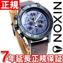 Nixon NIXON 38-20 Chrono leather 38-20 CHRONO LEATHER watch women's chronograph all Indigo / natural NA5041930-00