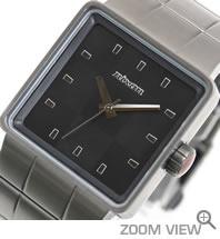 NIXON 腕時計 ニクソン QUATRO NA013131-00 ガンメタル 文字盤