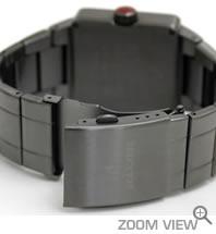 NIXON 腕時計 ニクソン QUATRO NA013131-00 ガンメタル ベルト