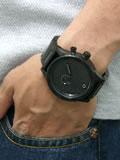 ニクソン 腕時計 NIXON 51-30 NA057001-00 オールブラック 着用