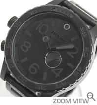 ニクソン 腕時計 NIXON 51-30 NA057001-00 オールブラック 文字盤