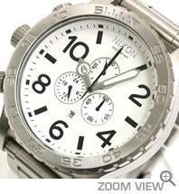 ニクソン NIXON 腕時計 51-30 CHRONO NA083100-00 ホワイト 文字盤