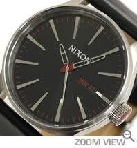 NIXON 腕時計 ニクソン 51-30 CHRONO NA083000-00 ブラック 文字盤